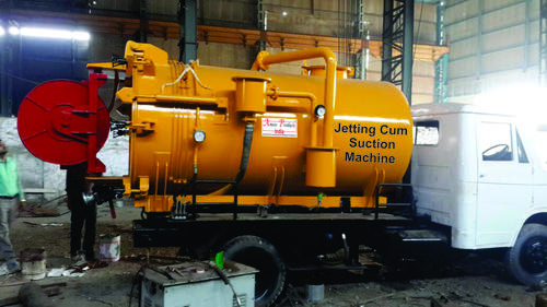 Sewer Suction with jetting Machine