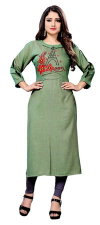 embroiderey fancy kurti