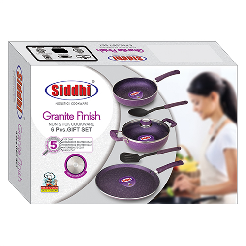 Non Stick Granite Finish Cookware Gift Set