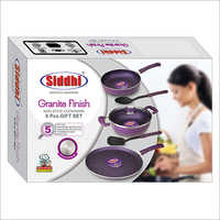 Non Stick Granite Finish Cookware Set