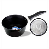 Hard Anodized Induction Tapper Sauce pan