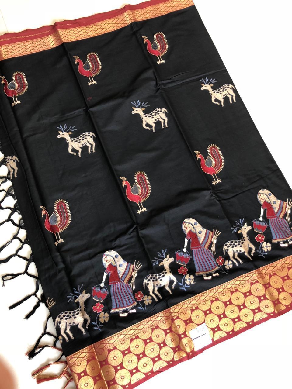 Exclusive Rich Cotton Silk Saree