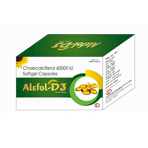 6000 IU Cholecalciferol  Softgel Capsules