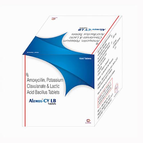 Amoxycillin Potassium Clavulanate  Lactic Acid Bacillus Tablets