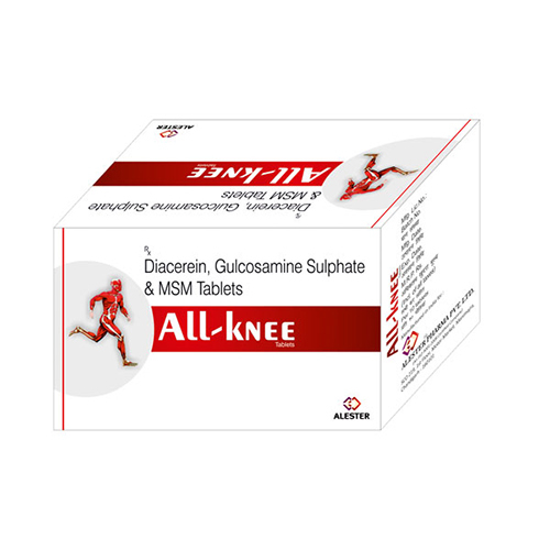MSM Diacerein Gulcosamine Sulphate Tablets