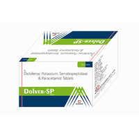Diclofenac Potassium Serratiopeptidase Paracetamol Tablets