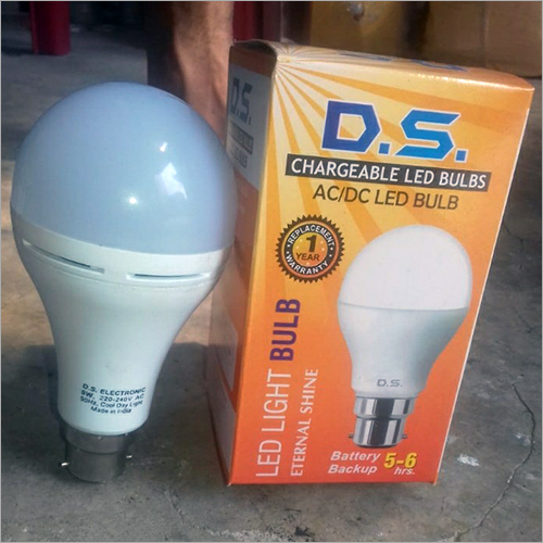 Led AC-DC Rechargeable Bulb 9W