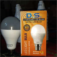 Led AC DC Rechargeable Bulb 9W