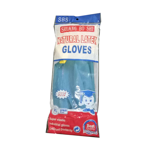 Natural Latex Rubber Hand Gloves