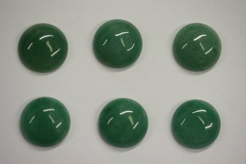 5mm Natural Green Aventurine Gemstone Round Cabochon Suppliers