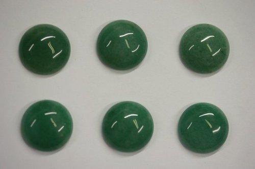 5mm Natural Green Aventurine Gemstone Round Cabochon Suppliers