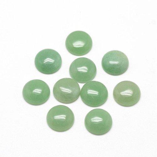 3mm Natural Green Aventurine Gemstone Round Cabochons Suppliers
