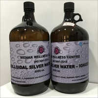 Colloidal Silver Water