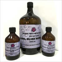 Colloidal Silver Water Ionized