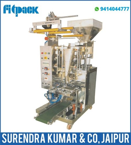 Automatic Pouch Packing FFS with Cup Filler Pneumatic