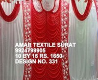 Tent store cloth ceiling parda