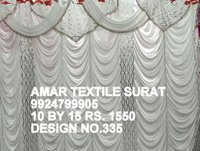 Wedding parda sidewall