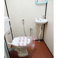 Portable Office Western Toilet Cabin