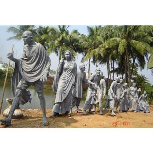 Customized Dandi March Gandhi Statues