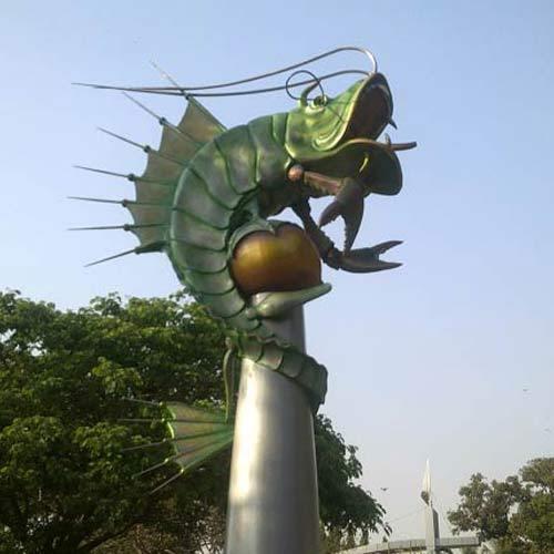 Customized Corporate Sculpture statue