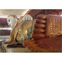 6 Feet Customized Resting Buddha statue