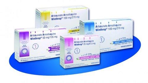 Artesunate and Amodiaquine Tablets