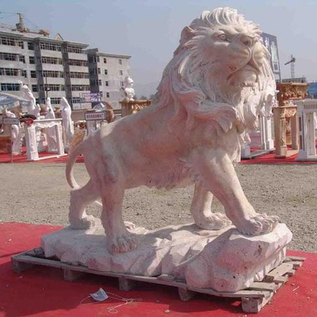 Customized Lion Fiber Statue