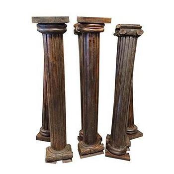 Customized Fiber Wooden Columns