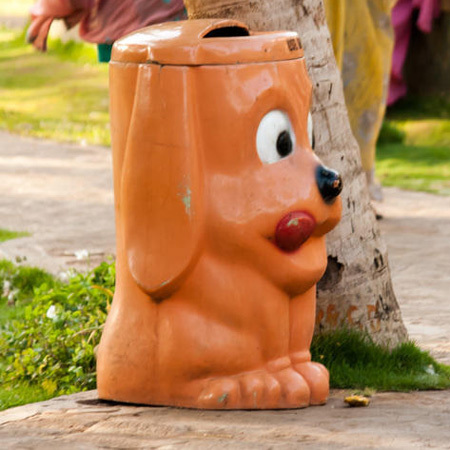 Customized Animal Dustbin