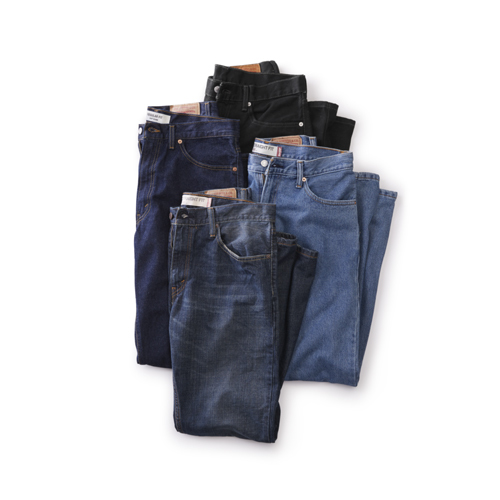 Mens Pure Denim Jeans