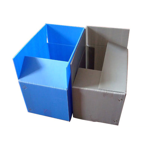 Plain PP Corrugated Box