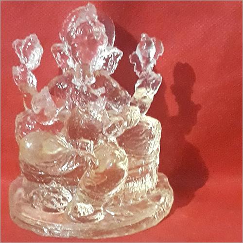 Crystal Ganesha statue