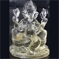 Crytal lord Ganesha statue