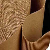 2 Ply Brown Corrugated Roll