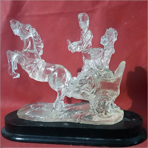 Crystal decorative pieces