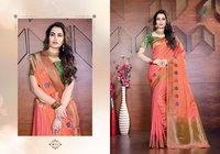 Charming Banarasi Silk Saree