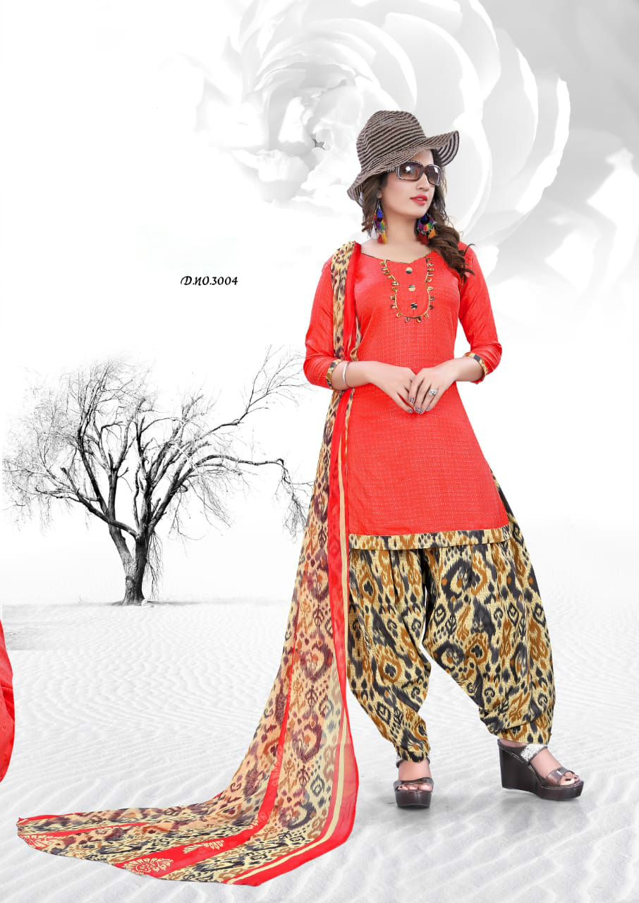 Casual wear Cotton Dress Material