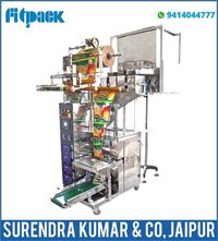 Automatic Pouch Packing FFS Pneumatic with 4 Head Weigher