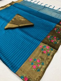 Exclusive Cotton Silk Saree