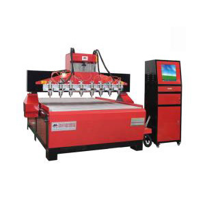 CNC Multi Head Wood Engraving Machine