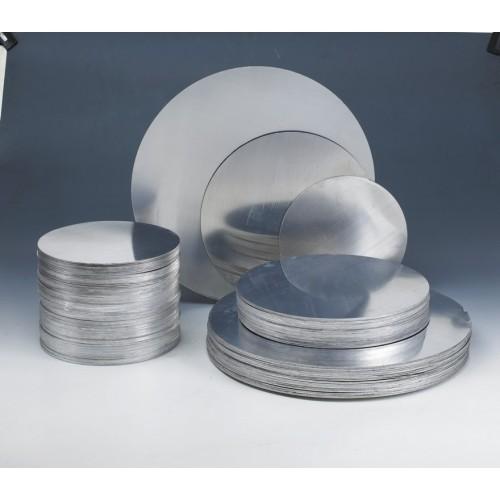 Anodised and Non Anodised Aluminium Circles