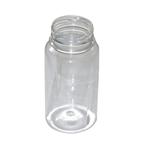 Transparent HDPE Jar