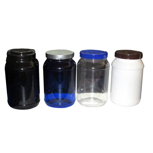 2 Kg Plastic Supplement Pet Jar
