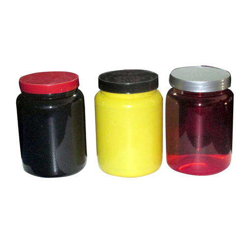 Round HDPE Supplement Pet Jar