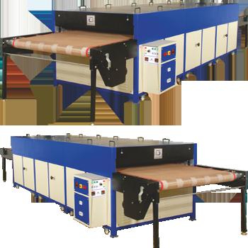 Electric Conveyor Curing Machine