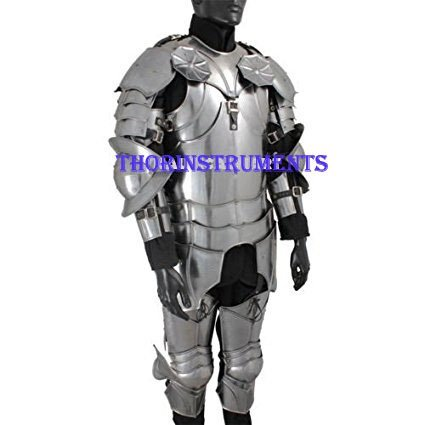 One Pair- Wearable Replica Armor Costume THORINSTRUMENTS Steel Gothic Armor Shoes with device