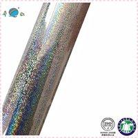 glitter on mirron silver background foil