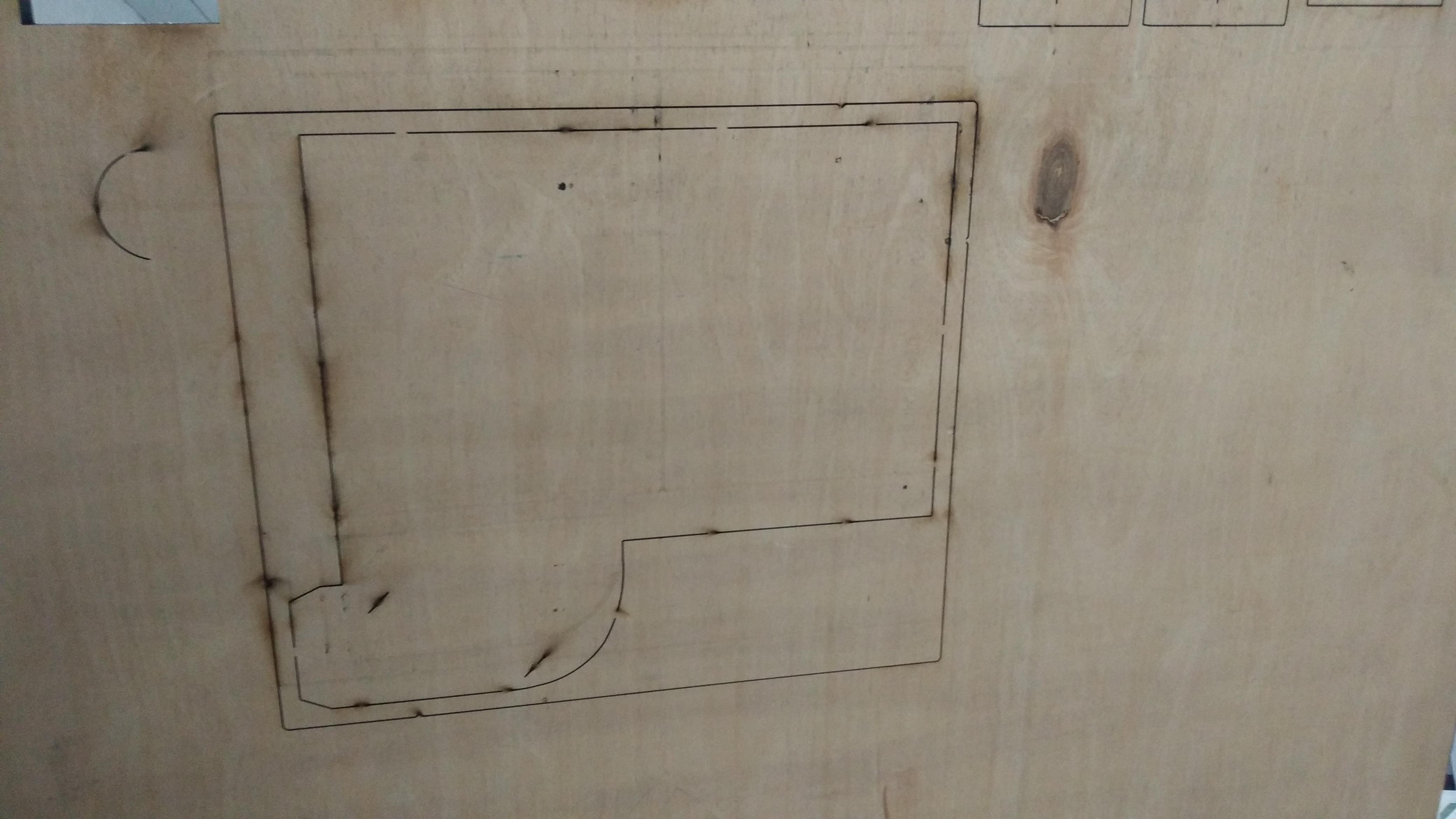 2500*1300mm die board cutting machine for plywood mdf manufacturer
