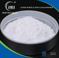 Super White and Fine Calcium Carbonate Powder
