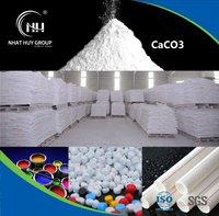 Super White and Fine Calcium Carbonate Powder